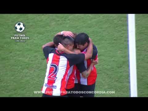 El gol de colegiales Concordia 1 0 Unión Agrarios Cerrito