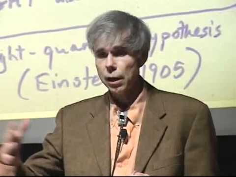 Einstein and the discovery of photon - Douglas Hofstadter - Stanford Lecture