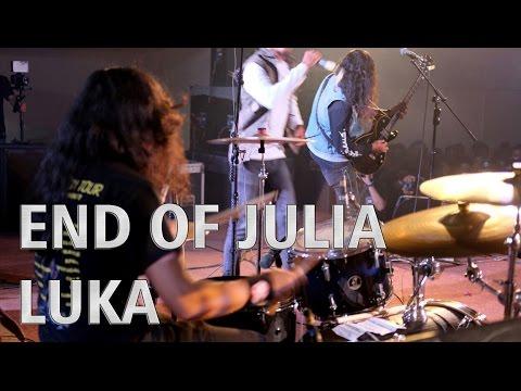 END OF JULIA - LUKA - Alvinuria (Drum Cam)