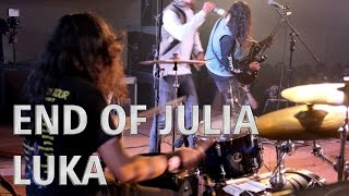 Video END OF JULIA - LUKA - Alvinuria (Drum Cam) download MP3, 3GP, MP4, WEBM, AVI, FLV Desember 2017