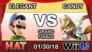 HAT 7 - BSD   Elegant (Luigi) Vs. Candy (Fox) Grand Finals - Smash 4