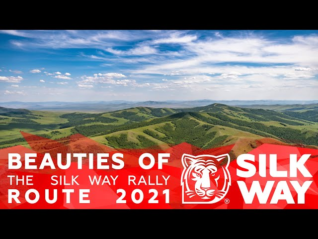 Beauties of the Silk Way Rally route