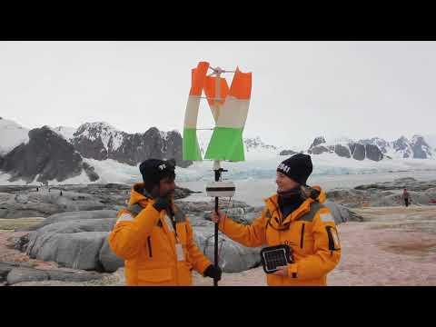 Renewable energy wind and solar in Antarctica