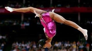 Gabby Douglas's Most Superhuman Gymnastics Moves