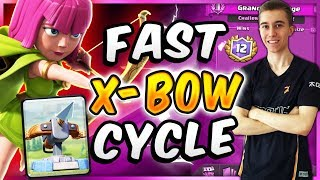 TOP XBOW DECK! SUPER FAST CYCLE DECK — Clash Royale