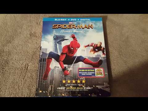 Spider-Man: Homecoming DVD BLU-Ray