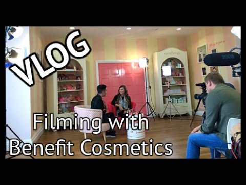 Filming With Benefit Cosmetics - My Birthday In London| VLOG