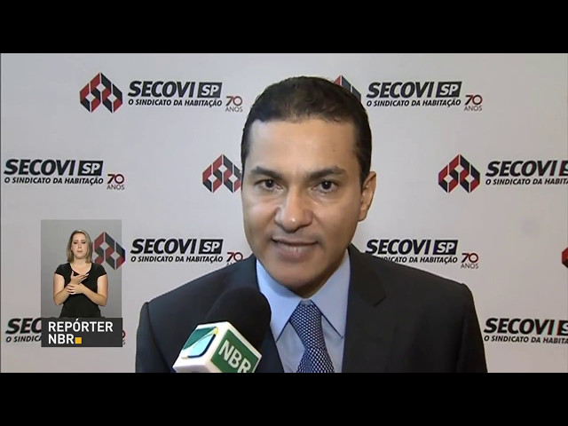 Ministro Marcos Pereira no Secovi/SP