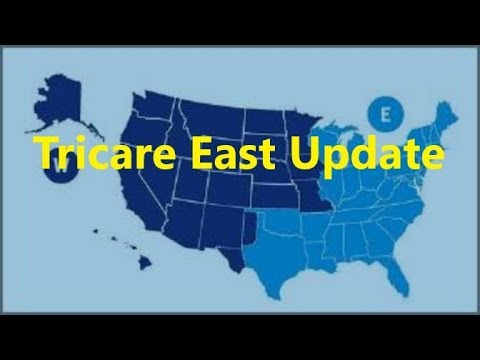 Tricare east region number