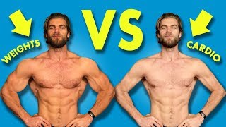 What Burns The Most Calories? WEIGHTLIFTING vs CARDIO Challenge!