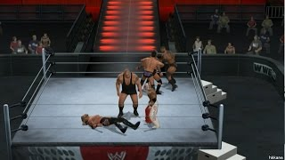 PS2 WWE SmackDown vs Raw 2011 1080P Gameplay