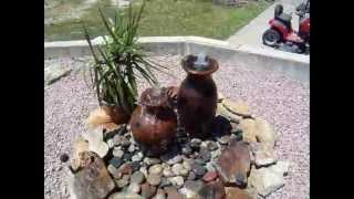 Diy Urn Fountain Garden Pond