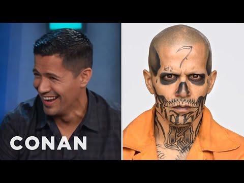 Jay Hernandez Sacrificed His Eyebrows To Play El Diablo   CONAN on TBS