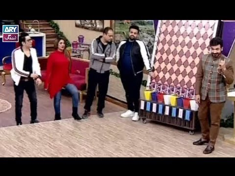 """Ab To Peena Paray Ga"" is played by Faysal Qureshi, Aadi, Faizan, Barkat Ali & Mathira"