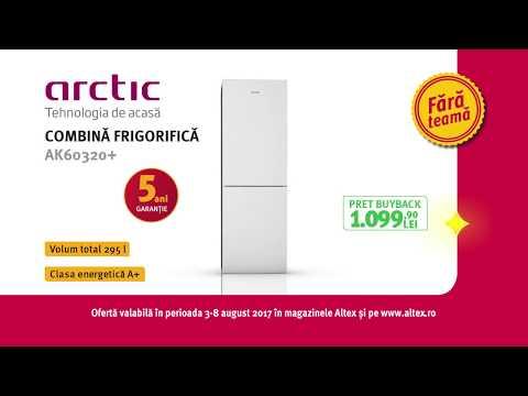 Reclama Altex - Combina frigorifica Arctic