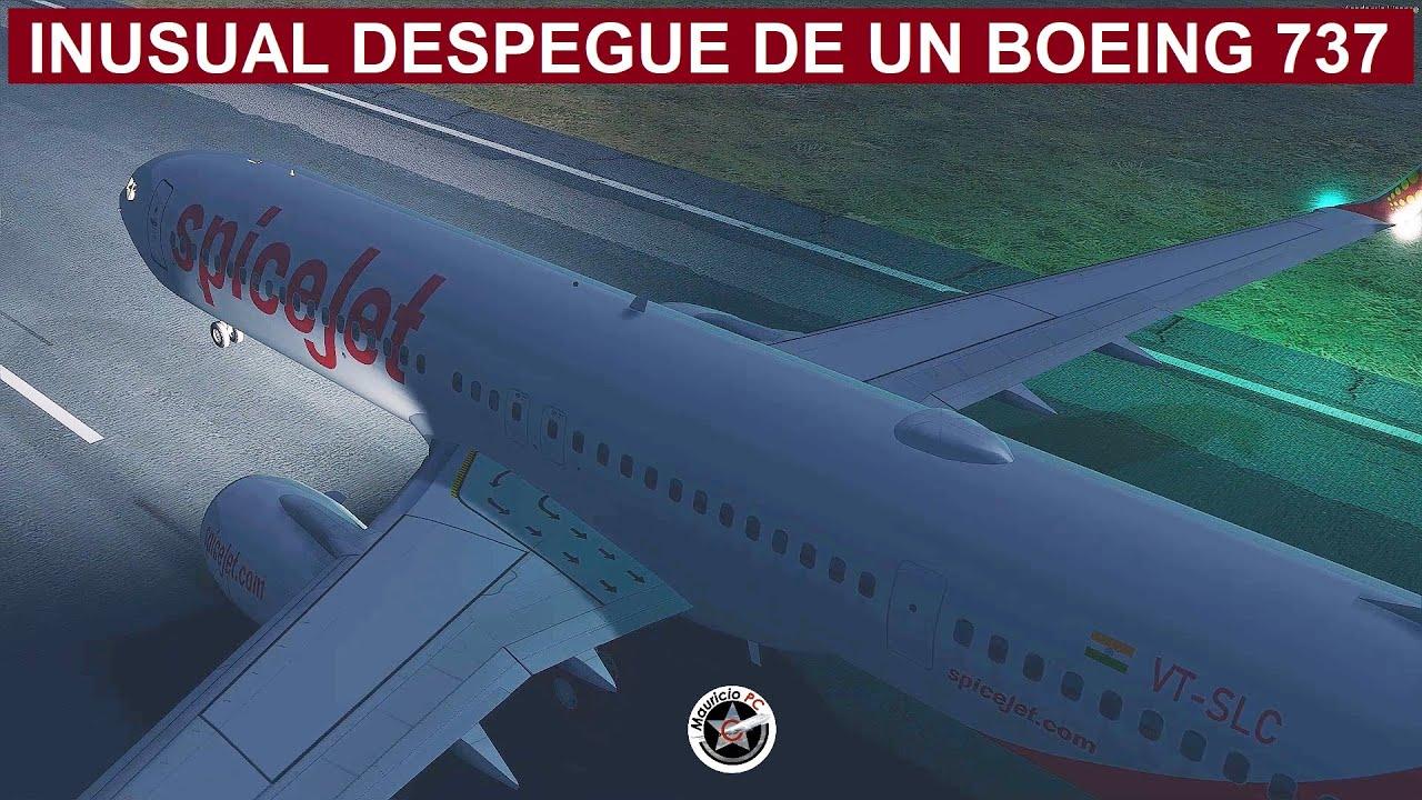 El Incidente Más Extraño de la Aviación Moderna - Despegue del 737 de SpiceJet