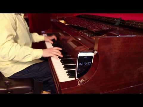 Chopin Etude no. 4 FASTEST of all time - John Yang