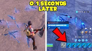 How To Pick Up ITEMS QUICKLY In Fortnite After NEW PATCH...