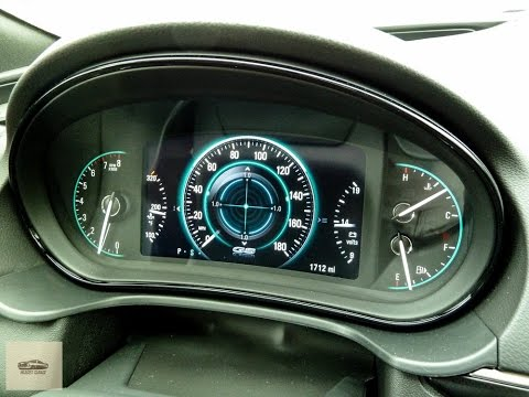2015 buick regal gs awd interior features gauges. Black Bedroom Furniture Sets. Home Design Ideas