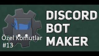 Basit Kullanıcı ID Alma Komutu | Discord Bot Maker Özel Komutlar Komutları #13