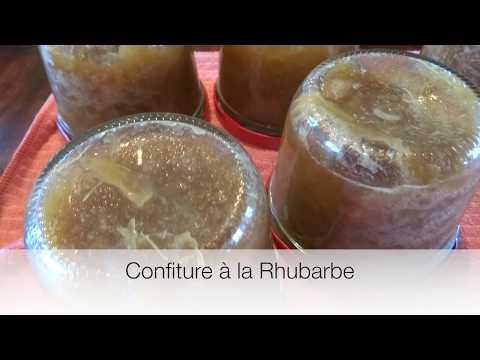confiture-à-la-rhubarbe