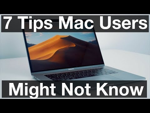 7 Tips Mac Users Might Not Know