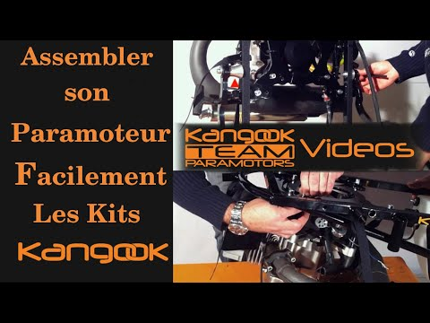 Monter Soi-Même son Paramoteur Grâce aux Kits Kangook