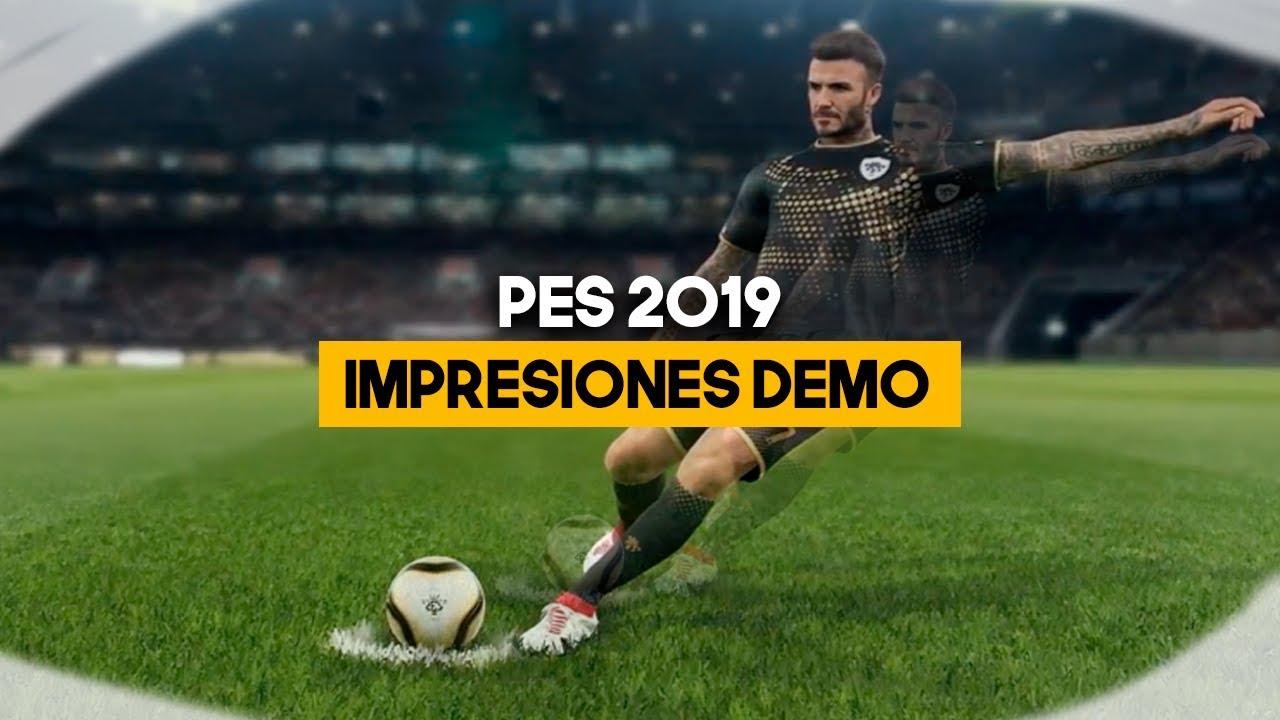 PES 2019: Probamos su demo, ¿vuelve EL MEJOR?