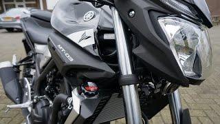 Yamaha MT-03 ABS Walk around & details