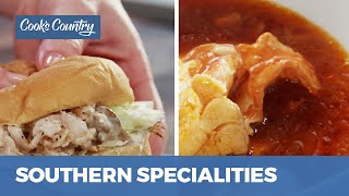 How to Make Tennessee Pulled Turkey Sandwiches and Eastern North Carolina Fish Stew