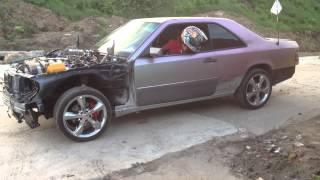 Mercedes W124 Сoupe V12 M120 Part 4