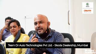 Testimonial from Team Dr Auto Skoda Dealership Mumbai | Workshop on Digital Marketing-Monkey Academy