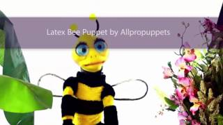 Bee ABC Song, Professional Bee puppet for Kids Entertainment