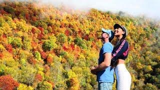 ยิ่งสูงยิ่งสวย ใบไม้เปลี่ยนสีบนเขา1000กม Peak fall foliage on Blue Ridge Parkway l Jayy Crane