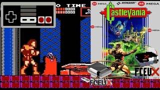Castlevania I 1987 [NES Rom]|MEGA|+MiniGamePlay