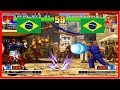 Kof 98 - TROPA (brazil) vs JUNIOR LEAL (brazil) Fightcade