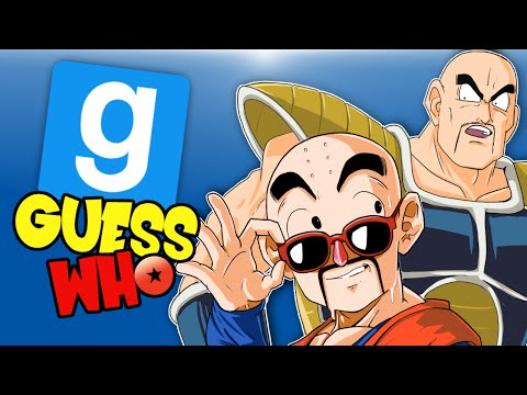 Gmod Ep. 48 GUESS WHO? - Dragonball Z Edition! (Garry's Mod Funny Moments) SFM Intro!