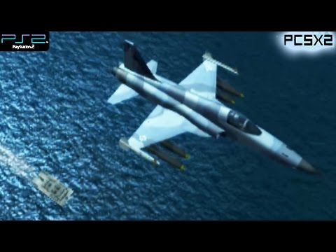 Ace Combat 5: The Unsung War -  PS2 Gameplay SD + FXAA (PCSX2)
