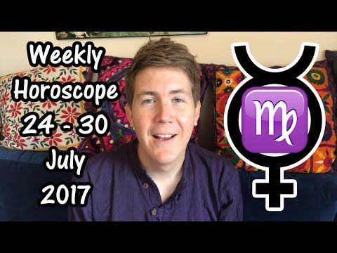 Weekly Horoscope for July 24 - 30, 2017 | Gregory Scott Astrology