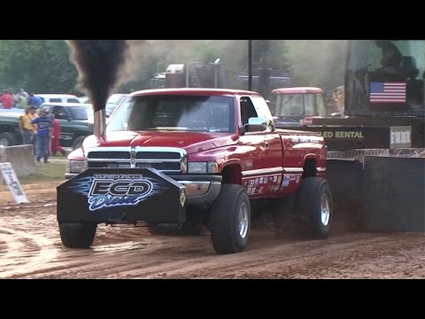 East Coast Pullers Pro Stock Diesel Truck Pull In Boonsboro, MD On July 12, 2014