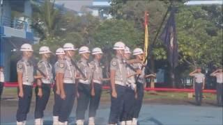 Morning Parade Serah Terima Jabatan Staf Resimen STIP 2016