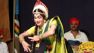 Yakshagana -- Nilkodu Shankar Hegde as Ambe