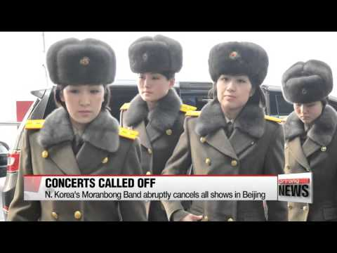 N. Korea′s Moranbong Band abruptly cancels all shows in Beijing