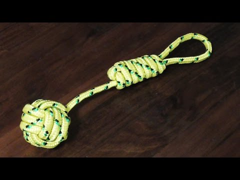 Detailed Tutorial On How To Tie A Monkey's Fist Knot