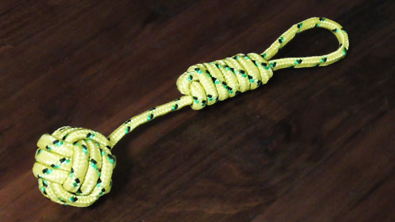 How to monkey fist knot