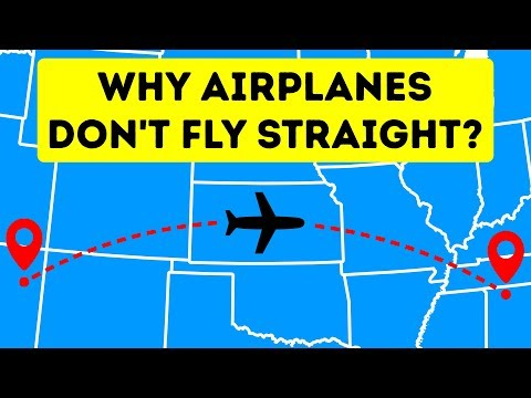 Why Planes Don't Fly Straight