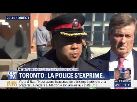Piétons renversés à Toronto: 9 morts et 16 blessés selon le chef-adjoint de la police