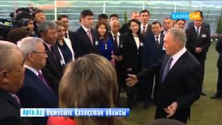 Мемлекет басшысы Оңтүстік Қазақстан облысына жұмыс сапарымен барды