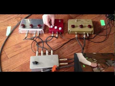 Klon KTR, Centaur Gold and Centaur Silver Comparison Demo with Bill Finnegan and Taylor Barefoot