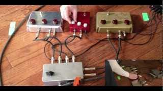 Klon KTR, Centaur Gold and Centaur Silver Comparison Demo with Bill Finnegan and Taylor Barefoot